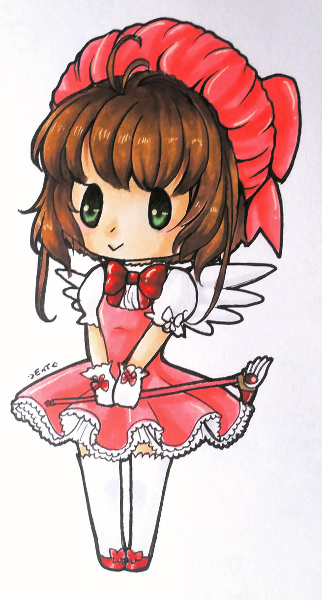 ...:::Chibi Card Captor:::... by EscarlattaNoTales