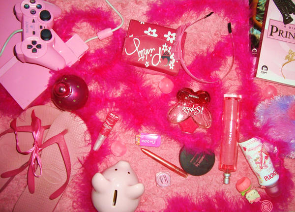 Pink stuff by wrongirl on deviantart for Cool girly stuff