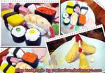 Clay Work - Japanese Food