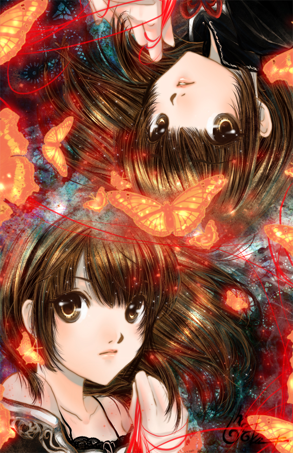 Fatal Frame 2 - Twins by TashaChan on DeviantArt