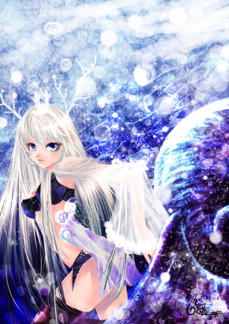 Princess of deep blue sea by TashaChan