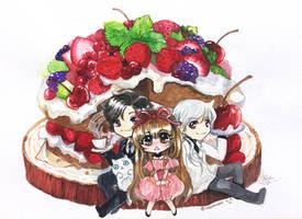 Mystic Fruit Cake by TashaChan