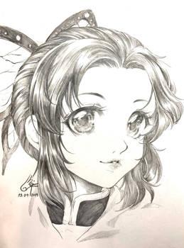 Fanart : Kocho Shinobu (Kimetsu no yaiba)