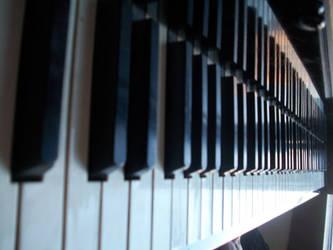Piano Keys by HeyThereLovlyLadyBug