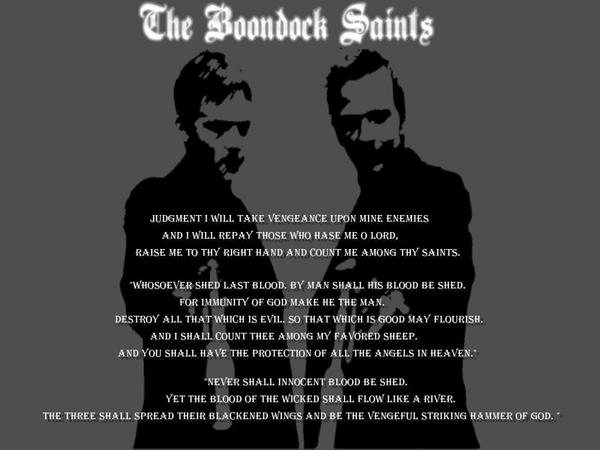 Boondock Saints Wallpaper By Dekon00