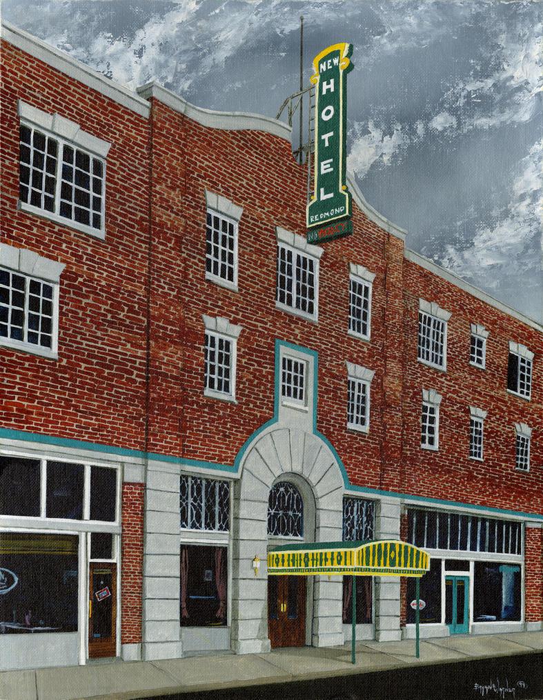 New Redmond Motel post size by NickDean