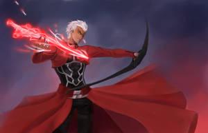 Archer by nekomukuro