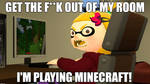 Yellowist Minecraft Meme.