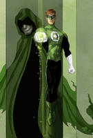 Green Lantern and Spectre by Toyebot