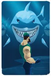 Canucks vs Sharks 2013 by Toyebot