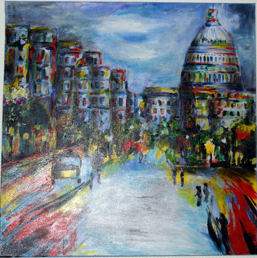 Washington Capitol by loew-art