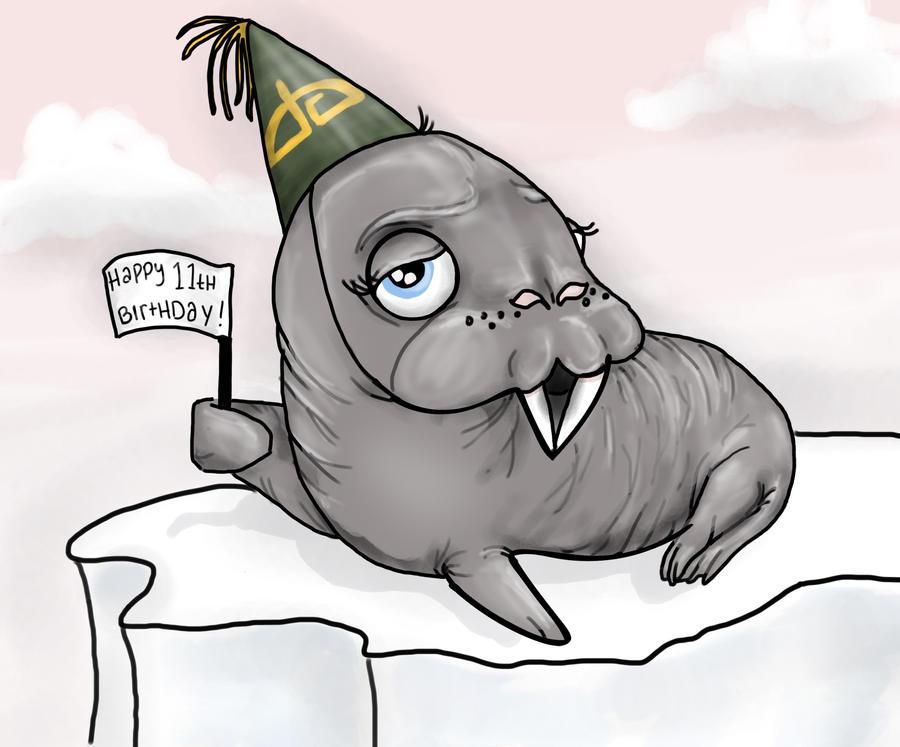 Happy Birthday dA by deeohtee