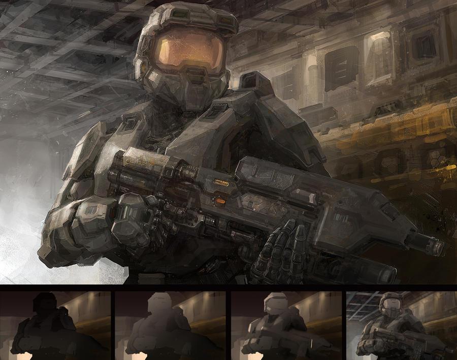 Halo study by VoltaCrew