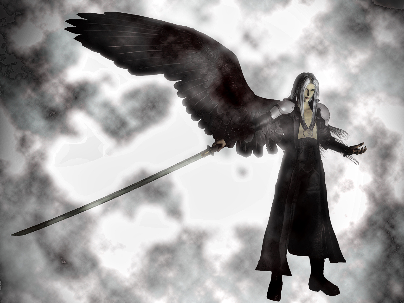 Sephiroth The One-Winged Angel by DarthMael on DeviantArt One Winged Angel Sephiroth