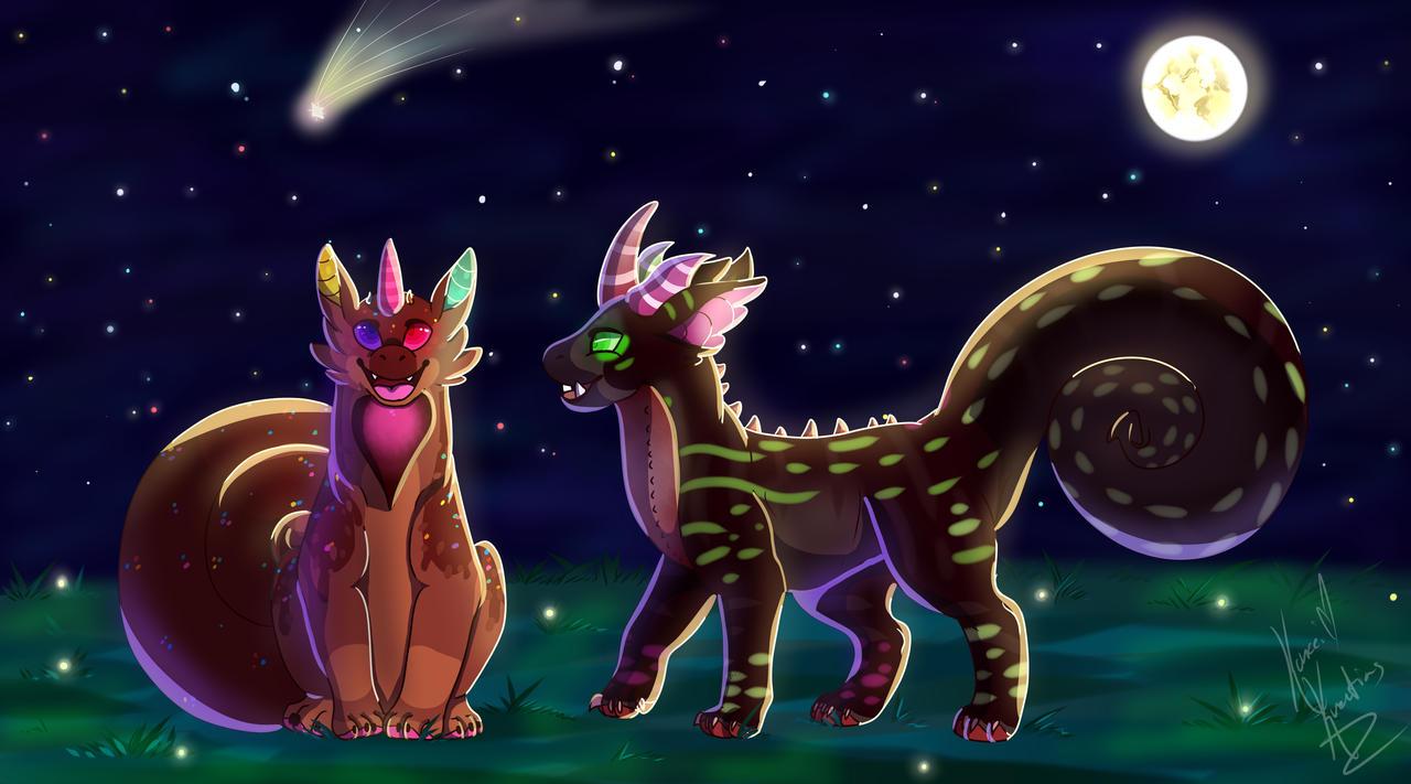 [Commission] Star Gazing by xXBeyondtheVoidXx