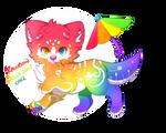 Rainbow Jello Shot Cake - [CLOSED]