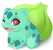 Bulbasaur by Konoei-Kreations