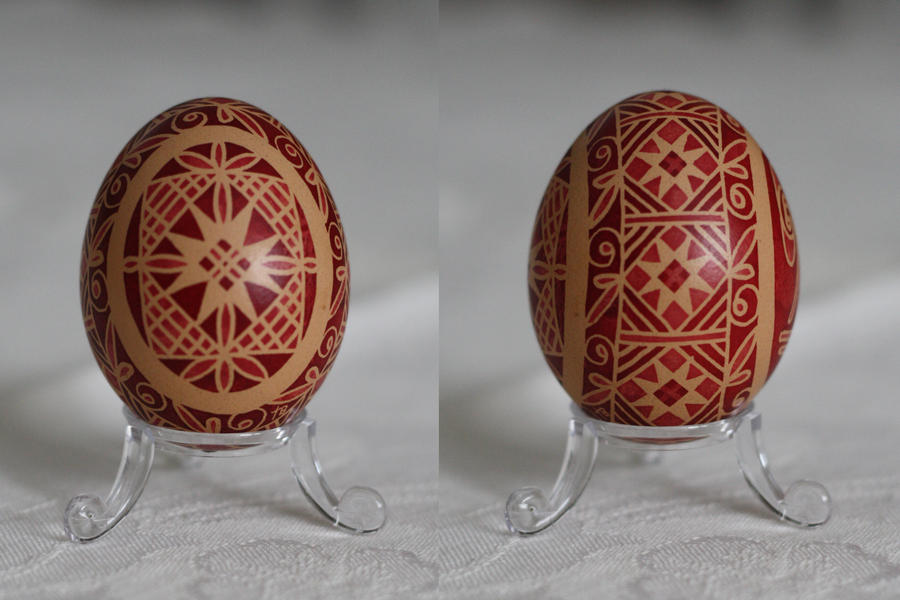 Pysanky for Molly by DaisyOdd