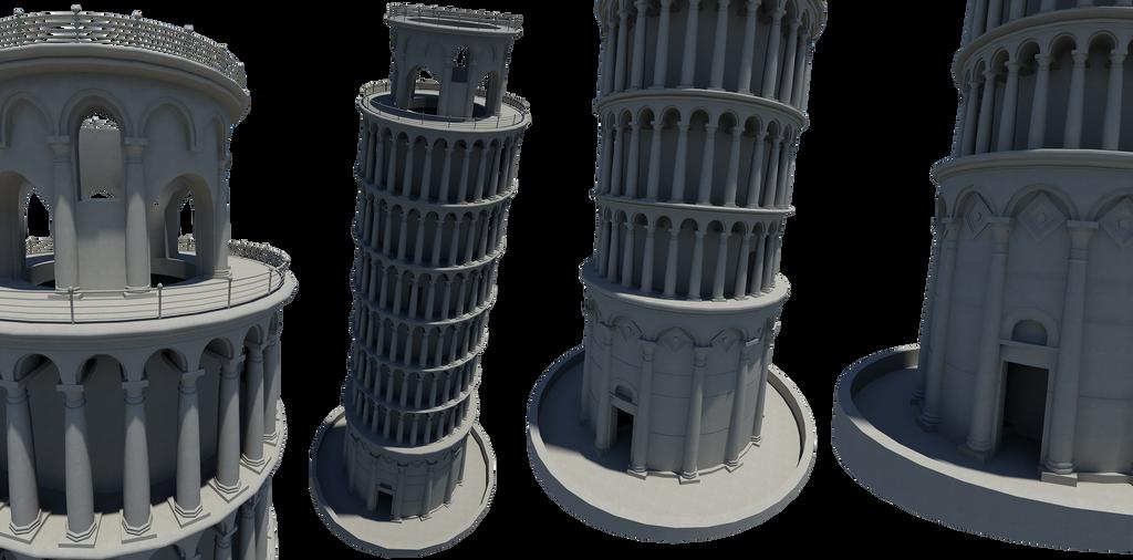 La Torre pendente di Pisa! by iemersonrosa