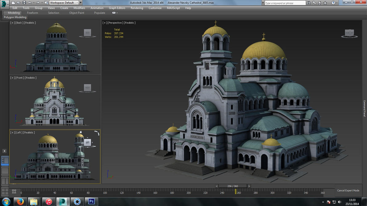 Alexander Nevsky Cathedral, Sofia (Bulgaria) by iemersonrosa