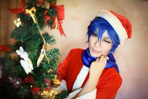 Merry Christmas from Kaito by herotenka
