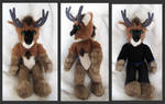 Andre anthro plushie by Astrocat
