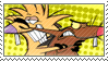 Angry Beavers Stamp by taximals