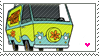 Mystery Machine Stamp by taximals