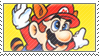 Raccoon Mario Stamp by taximals