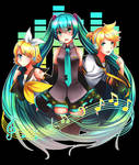 Triad [Hatsune Miku Design Contest]