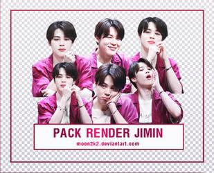 ( PACK RENDER ) JIMIN - BTS (4) by Moon2k2