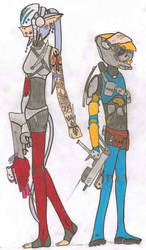 Althiia and Kyte by mr-guy-man001