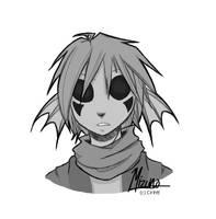 Doodling Still:: Mizuno by werewolfmali