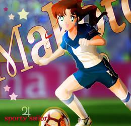 Sporty sailor - Makoto by Kika777