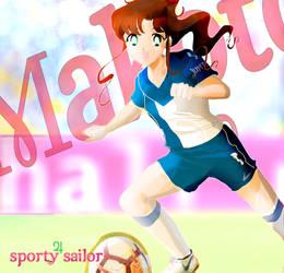 Sporty sailor - Makoto B by Kika777