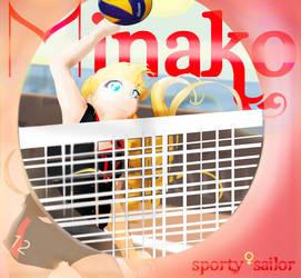 Sporty sailor - Minako by Kika777