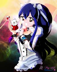 Pop idol style - Wendy - Fairy Tail