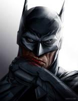 Batman Portrait by punktx30