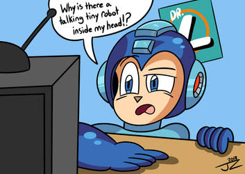 Mega Man's reaction to Fully Charged by J-Zrod98