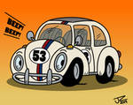 Herbie the Love Bug (The Loud House Style)