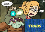 Let's go!...TOADS!?