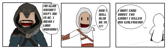 AC: Revelations comic. by DeinoLover4ever