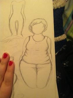 Body Study 1 by GreenPawPrints