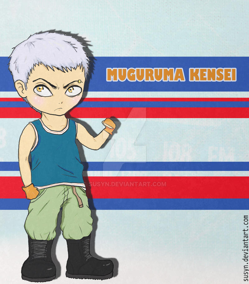 Muguruma Kensei by Susyn