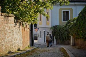 Idyllic alley