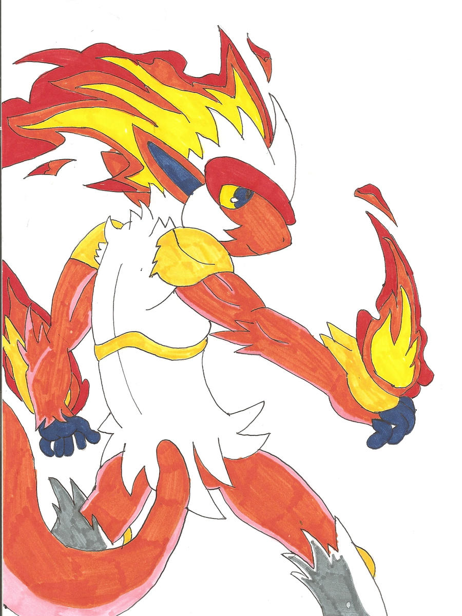 Infernape blaze the image kid has it for Blaze cartoni