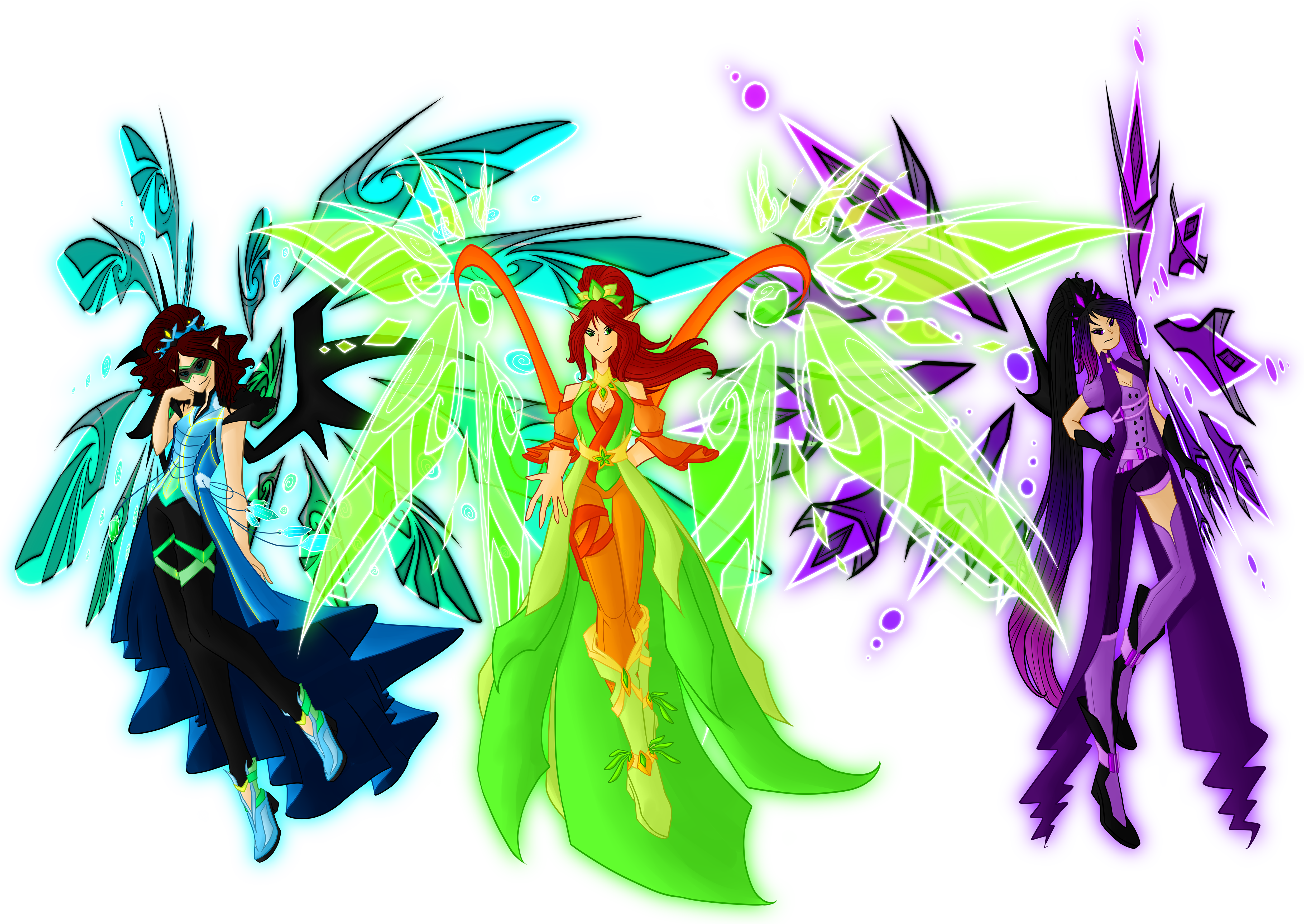 Insignix Fairies by SorceressIgnis