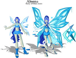 Aleena Magic Transformation and Enchantix by SorceressIgnis