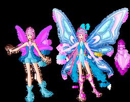 Amethys Magic Transformation and Enchantix by SorceressIgnis