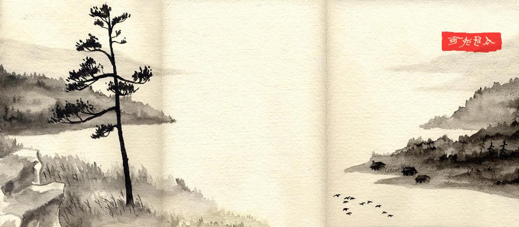 Japanese Landscape I by Cornfed82 on DeviantArt